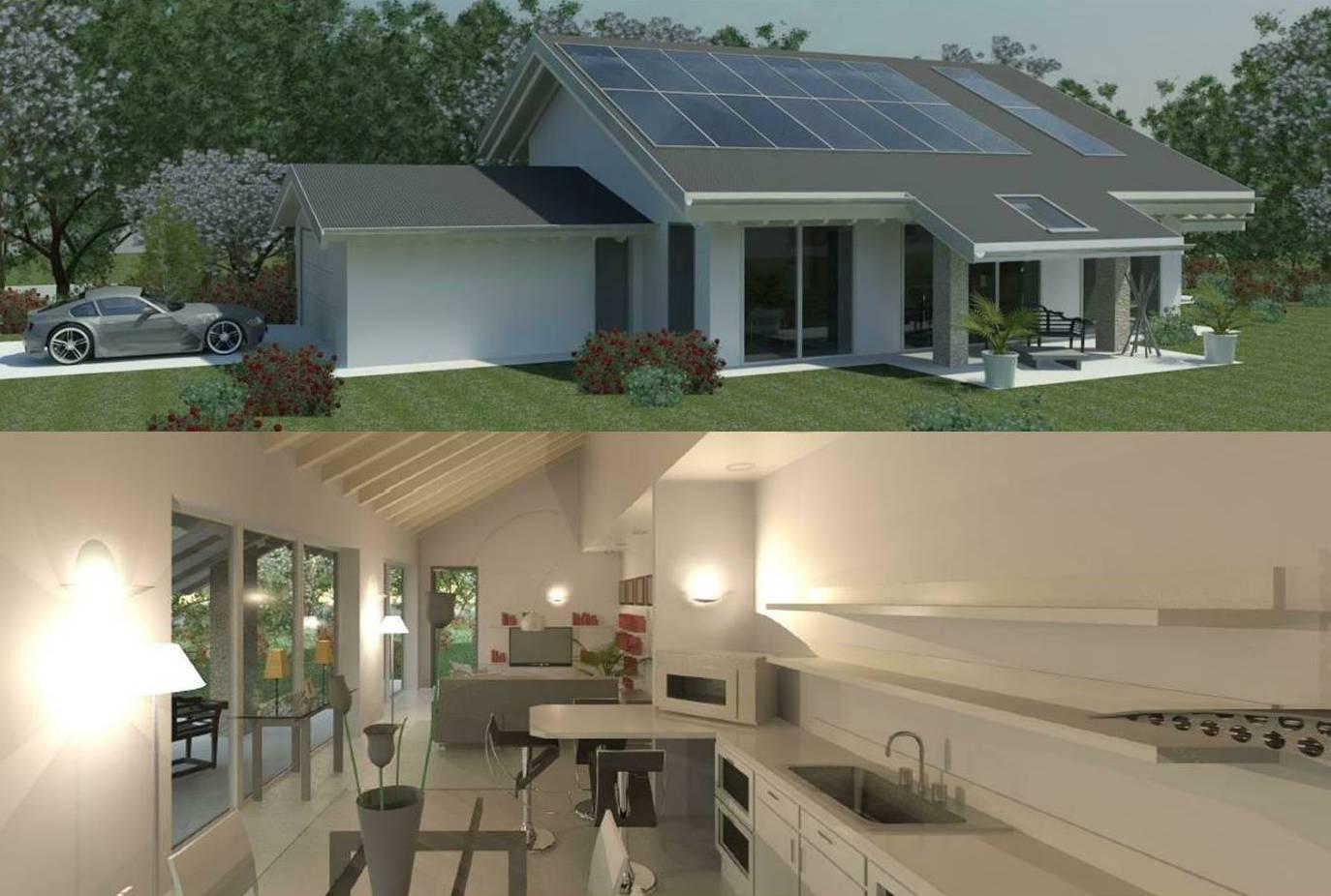 Progettazione Casa In Legno : Casa lam